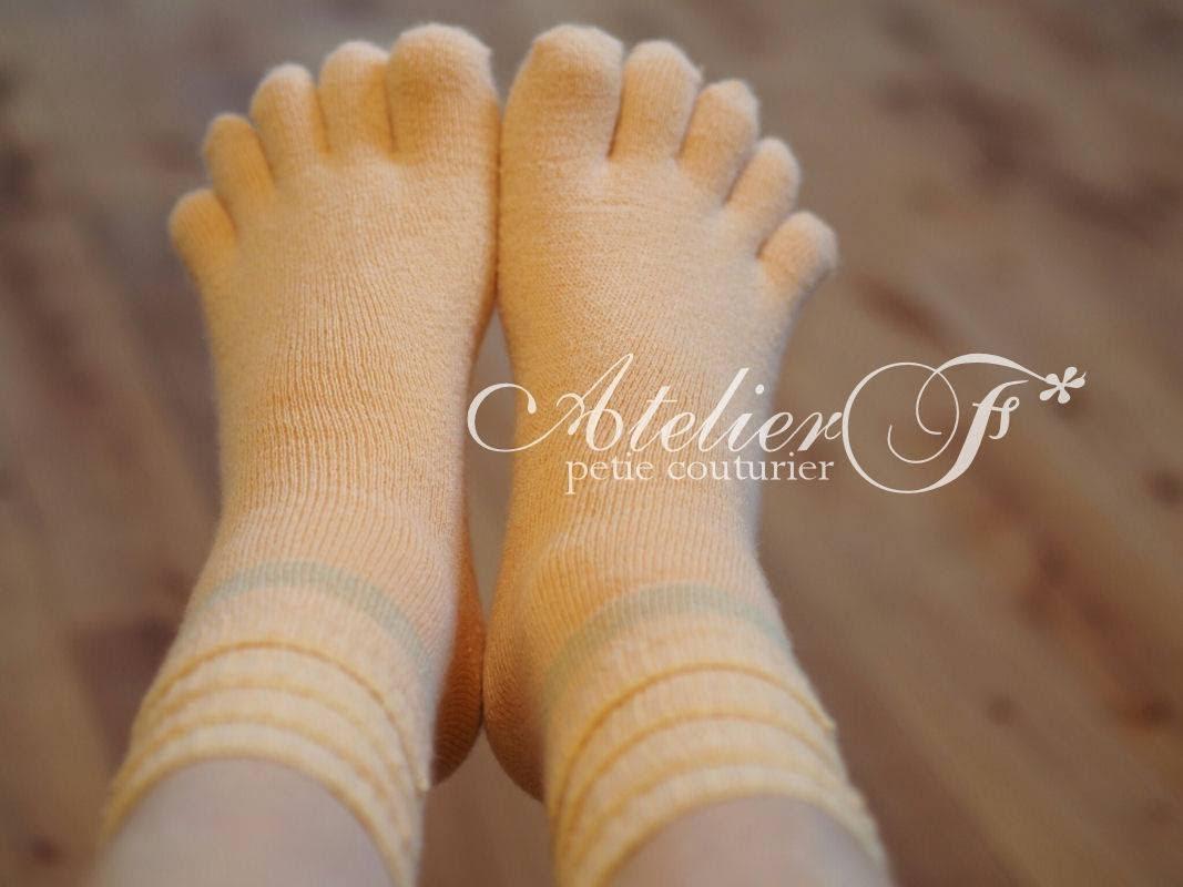 冷えとり講座で繊維について学び、半年で体重が5kg減! 靴下を履いて美肌になる!