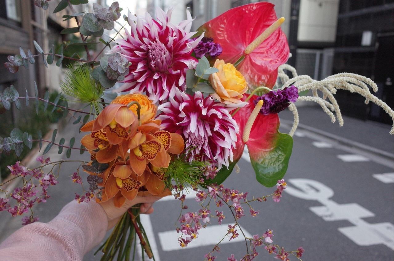 お花のブーケ作ってみよう〜何気ない日に大切な人へのプレゼント〜