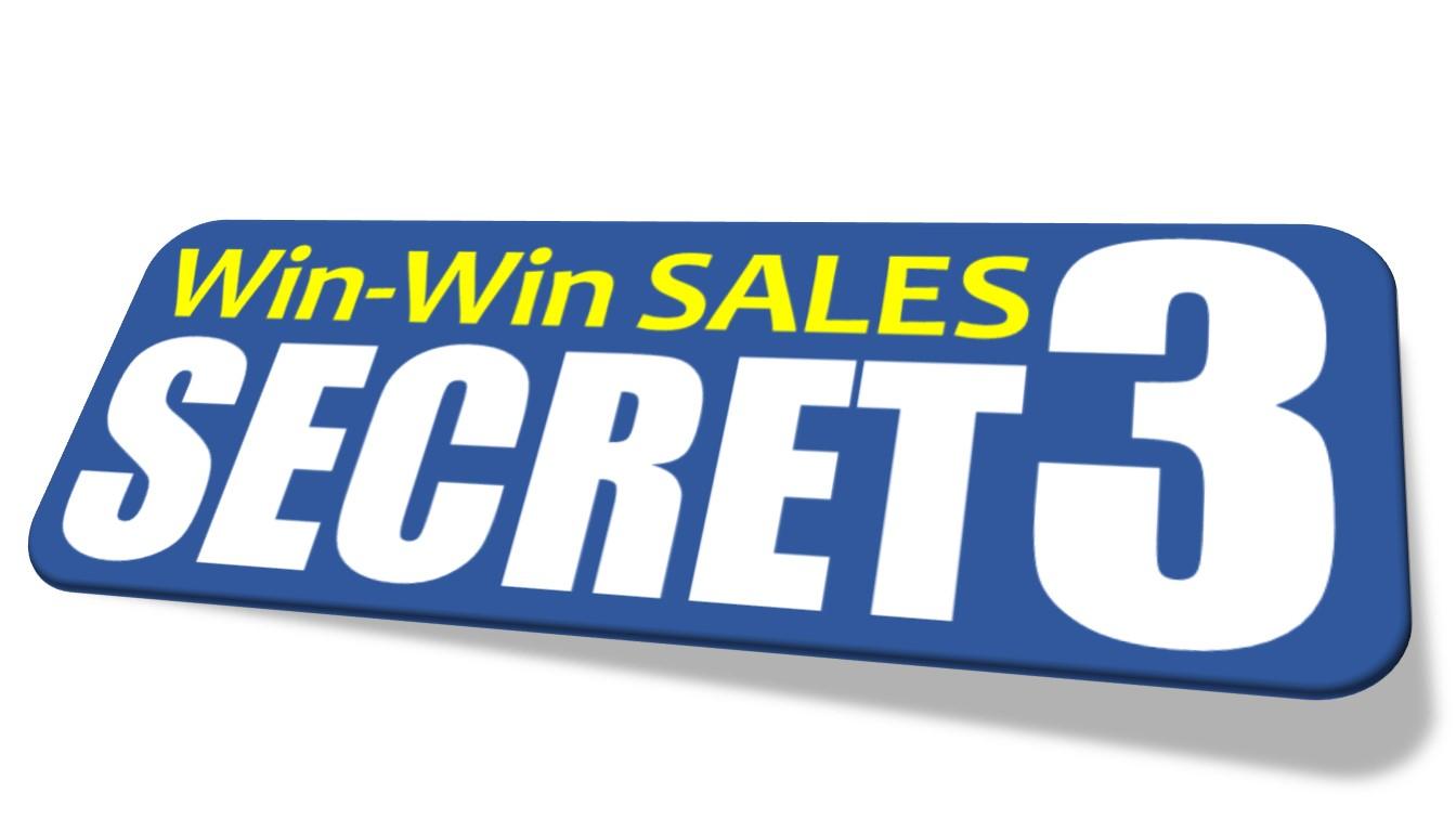 【経験ゼロでも売れる!】Win-Winセールス 3つの法則セミナー